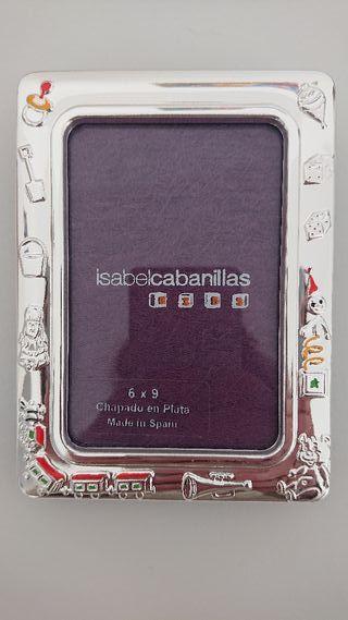 marco fotos plata Bebé Isabel Cabanillas