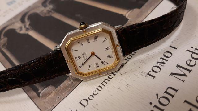 reloj seiko vintage mujer