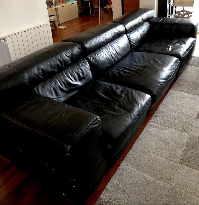 Sofá + sillón Natuzzi
