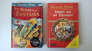 Pack libros Gerónimo Stilton pasta dura
