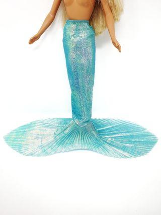 Cola de muñeca Barbie Mermaid de 1991