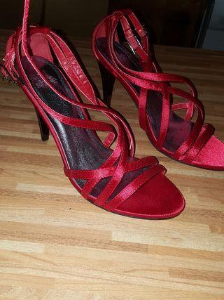 zapato tacon numero 38