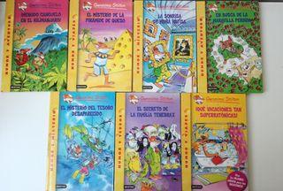 Pack 7 libros Gerónimo Stilton