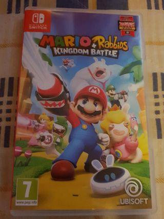 Mario + Rabbids Kingdom Battle.