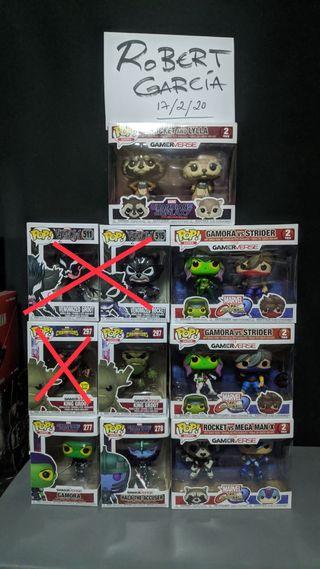 Colección Figuras Funko Pop Guardianes Marvel Game