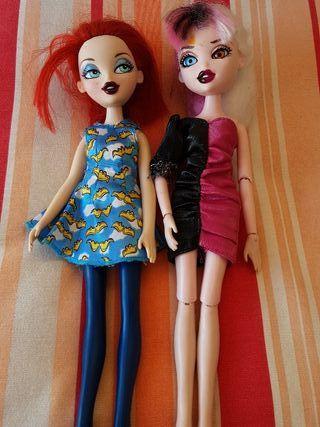 2 muñecas Monster High