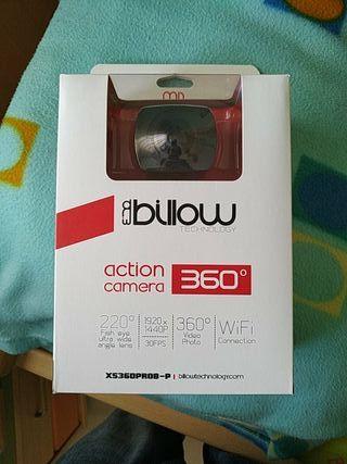 Cámara de acción 360° -Billow Technology XS360PROB