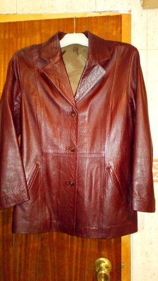 chaqueta piel auténtica mujer