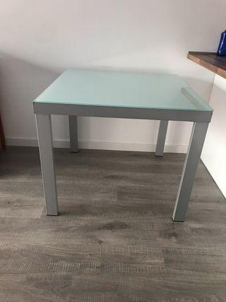 Mesa cocina/comedor cristal