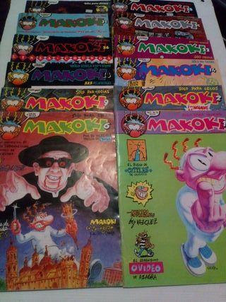 Colección de Cómics Makoki Solo Para Adultos