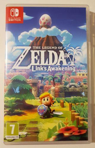 Zelda: The Legend Of Link's Awakening.
