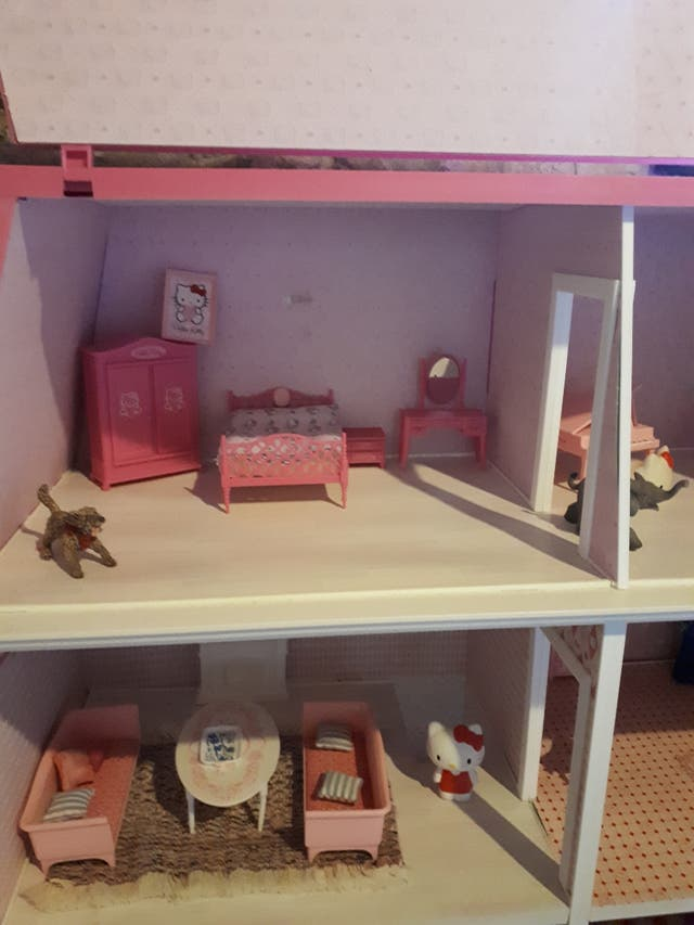 Casa de muñecas Hello Kitty