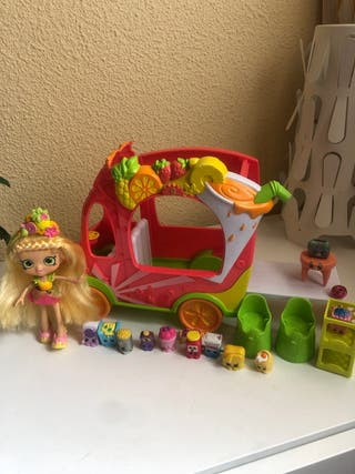 Muñeca shopkings con coche y shopkings + REGALO
