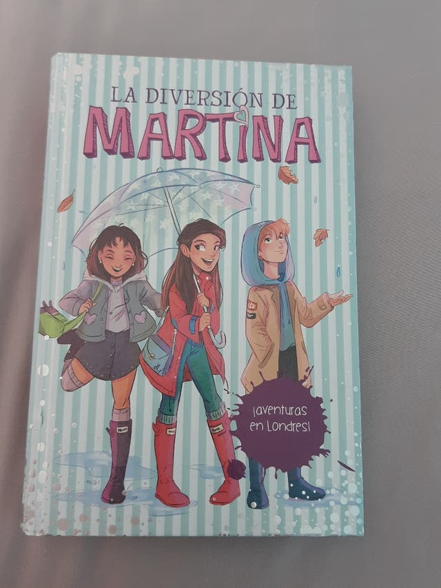 Seis libros de la diversión de Martina de segunda mano por