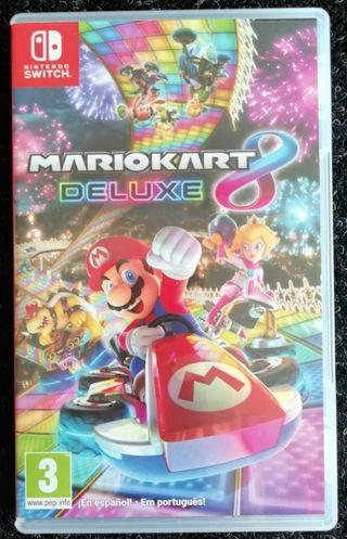 MarioKart 8 Deluxe.