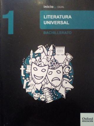 Libro Literatura Universal 1 Eso Oxford