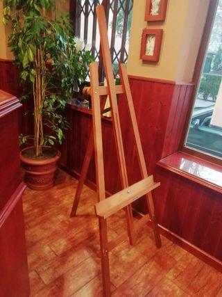 Vendo Caballete madera para pintura