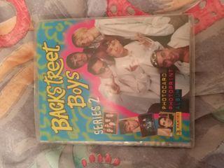 album de postales backstreetboys series 2 incomple