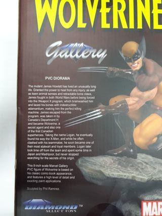 Figura Lobezno Marvel Comic Gallery Diamond