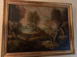 Pintura Paisajista Antigua