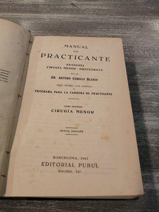 1943 Cirugía menor Manual del Practicante