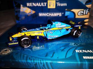 minichamps R25 Renault Fernando Alonso campeon w