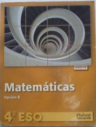 Matemática Opción B, 4 Eso