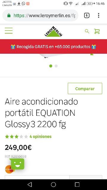 GANGA!!! 75€€€ SEMINUEVO Aire acc Portátil.
