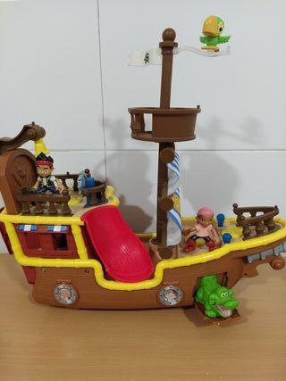 Barco Jake y los piratas