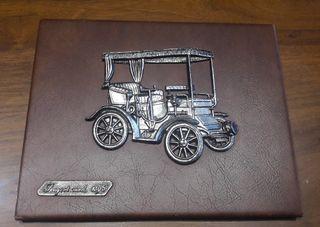 Cuadro coches metal vintage Rodex