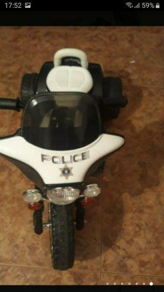 motos seminuevas de policía batería