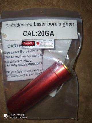 Colimador láser calibre 20 GA