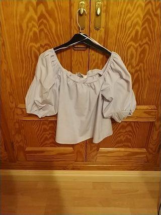 camisa cuello barco