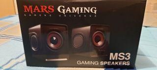 Altavoces Mars gaming gran calidad
