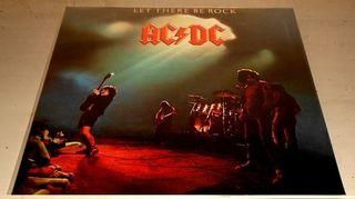 AC/DC LET THERE BE ROCK LP VINILO NUEVO PRECINTADO
