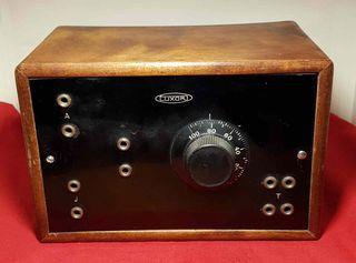 RADIO DE GALENA LUXOR, C1920