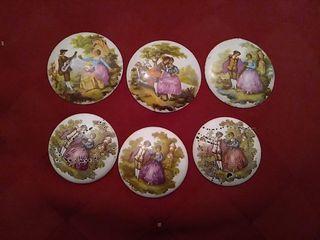 medallones de porcelana
