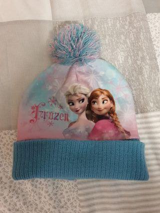 Gorro de Frozen. Ana y Elsa