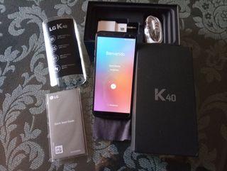 Movil LG K40 Azul