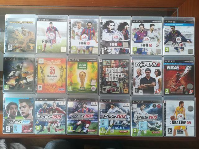 Lote 16 Juegos PS3