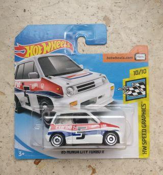 Hot Wheels '85 Honda City Turbo II Blanco HW speed