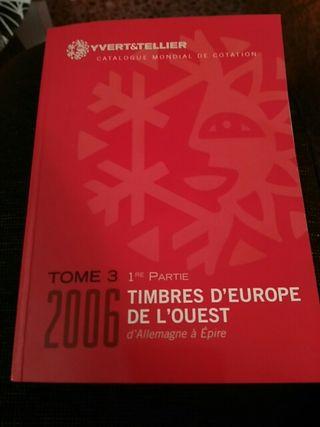 catalogo sellos de europa