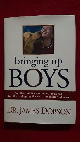 Bringing up boys. English book. Libro en inglés.