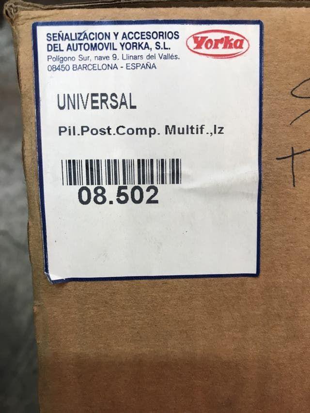 Piloto universal camión 5 funciones nuevo