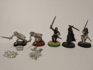 Aragorn varios modelos Warhammer ESDLA