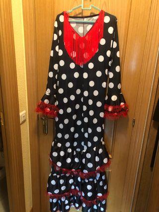 Vestido/disfraz de flamenco talla 44