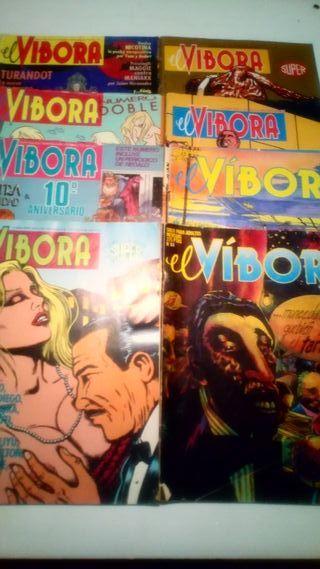 Cómics Víbora 18 ejemplares