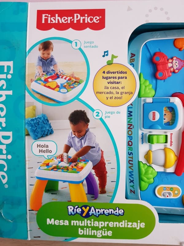 Fisher Price mesa actividades bebé