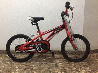 Bicicleta niñ@ BH California.