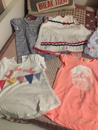 Lote grande de ropa niña 6/9 meses y 9/12 meses
